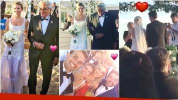 El álbum del casamiento de Sofía Zámolo y José Félix Uriburu en Punta del Este (Fotos: Instagram)