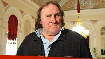 Gérard Depardieu fue lapidario con la televisión argentina. Foto: Web
