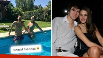 Ivana Nadal y Hernán Rey, ¿reconciliados? Foto: Web.