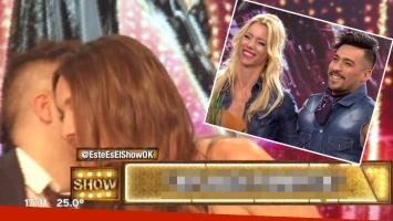 El secreto de Ángel de Brito a Pampita tras la eliminación de Nicole Neumann del Bailando 2016 (Fotos: Captura)