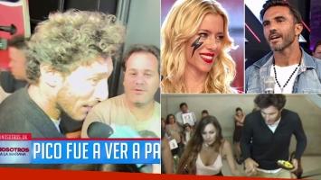 Pico Mónaco, tras la propuesta de Fabián Cubero de reunir a Pampita y Nicole Neumann (Foto: web)