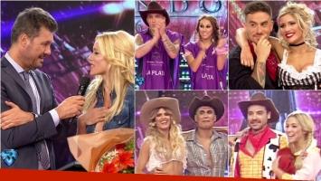 Nicole Neumann quedó eliminada de Bailando 2016: El Polaco, Pedro Alfonso, Mery del Cerro y Fede Bal son semifinalistas. Foto: Captura