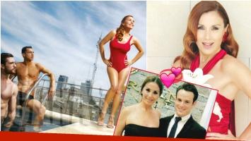 Viviana Saccone, diosa a los 48 y muy enamorada de su novio 24 años menor (Fotos: revista Caras)