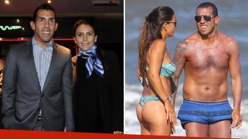Carlos Tevez y Vanesa Mansilla tendrán una boda de cuatro días que comenzará en Argentina y terminará en Uruguay. (Foto: Web)