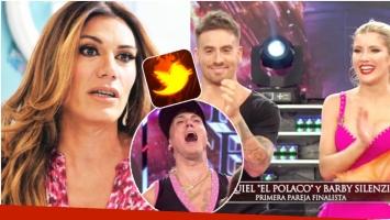 Escandaloso tweet de Flor de la Ve tras la eliminación de Fede Bal y Laurita del Bailando (Fotos: Web y Captura)