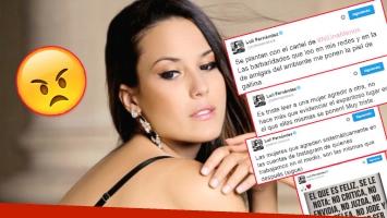 Fuerte descargo de Luli Fernández por los comentarios agresivos en las redes (Foto: Web)