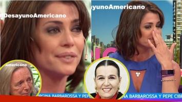 La emoción de Pamela David al recordar a Ana María Campoy en Desayuno americano: