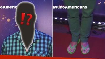 """Tartu y su """"particular"""" look en la fiesta de América: ¡fue en ojotas!"""