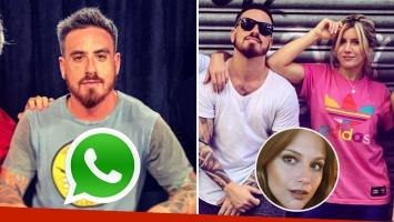 Federico Bal negó que se refiriera a Laurita Fernández en el chat de WhatsApp que revelaron en Los Ángeles de la Mañana.