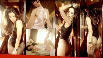 Natalia Oreiro, más sensual que nunca, en un videoclip cantando un clásico de Gilda. Foto: Captura
