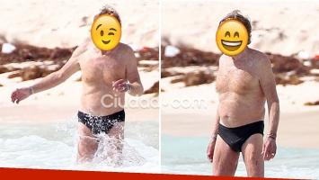 ¡Qué campeón! Mirá qué famoso actor de 80 años ¡lució una sunga en sus vacaciones!