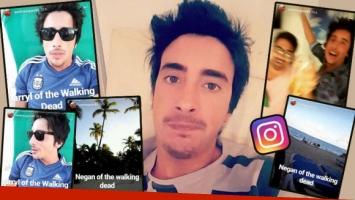 Santiago Vázquez, su último Instagram Stories desde sus vacaciones en Punta Cana