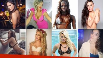 Algunas de las precandidatas a coronarse como La Chica del Verano 2017. (Foto: Web)