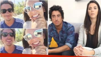 Belu Lucius publicó el último video con Santi Vázquez mientras estaban de vacaciones en Punta Cana (Fotos: Captura de Instagram y Captura de Ciudad.com)