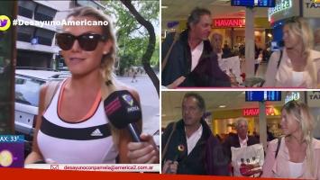 Gisela Berger admitió su romance con Daniel Scioli