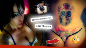 Daniela Cardone mostró con una foto hot de Instagram su tatuaje más
