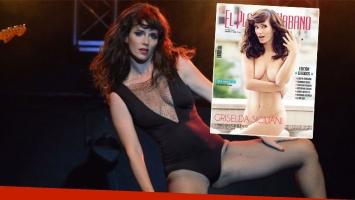 Siciliani respondió a las críticas tras posar desnuda en una revista (Foto: web y El Planeta Urbano)
