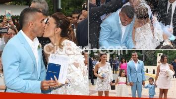 La boda de Tevez.
