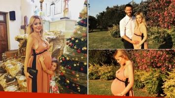 La previa navideña de Evangelina Anderson y Martín Demichelis en Justiniano Posse (Foto: Instagram)
