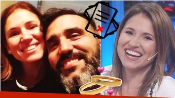 El insólito error de Fernanda Iglesias por el que debió atrasar su casamiento (Fotos: Web y Captura)