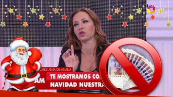 Analía Franchín reveló su método anti-despilfarro para la Navidad.