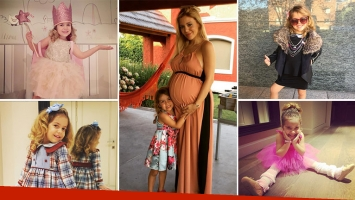 El orgullo de Evangelina Anderson por el debut como modelo de su hija
