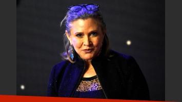 Falleció Carrie Fisher, la actriz que personificó a la Princesa Leia de Star Wars. (Foto: Twitter)