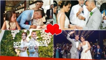 Las fotos oficiales del casamiento de Carlitos Tevez y Vanesa Mansilla (Fotos: Flia. Tevez/Estudio Omar Díaz)