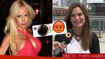 Luciana Salazar y un lapidario tweet mientras Amalia Granata daba un móvil (Foto: web)