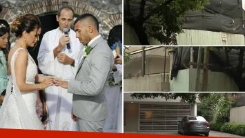 Robaron la casa de Carlos Tevez en San Isidro mientras se casaba