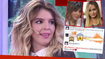 La polémica calificación a La Princesita en Twitter que Dalma Maradona avaló con su respuesta (Foto: web y Twitter)