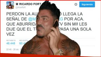 El detrás del misterioso mensaje que apareció en el Twitter del fallecido Ricardo Fort.