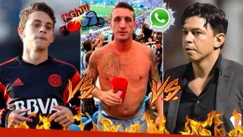 ¡Escándalo y trompadas! El audio de Fresco y una supuesta pelea con Marcelo Gallardo y su hijo Nahuel: ¿qué pasó?