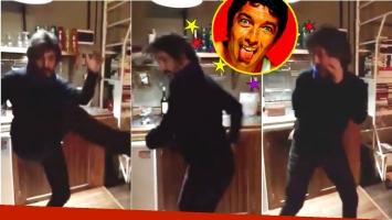 Ricardo Darín bailó reggaetón para celebrar el Año Nuevo:
