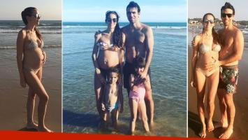 Agustina Lecouna, embarazada de tres meses en Punta del Este (Foto: Instagram)