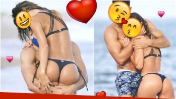 La parejita que le hace la competencia a Pampita y Pico y se muestran muy enamorados en Punta del Este (Fotos: revista Caras)