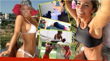 El sorprendente cambio de Claudia Fernández...¡de diosa voluptuosa a chica fitness! Foto: Instagram