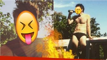 El destape del actor en Brasil... ¡en sunga! Foto: Instagram