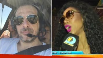 Marcelo Cosentino negó los rumores de embarazo de May Alexander y salió al cruce. Foto: Captura/ Web