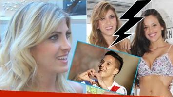La pelea de Barbie Vélez y Candela Ruggeri fue por Sebastián Driussi? (Fotos: Captura y Web)
