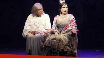 Pepe Cibrian y Georgina Barbarossa y un emotivo debut con Lord