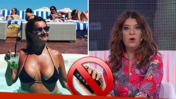 Nancy Pazos explicó por qué se sacó las fotos hot,... ¡y se cruzó muy fuerte con Andrea Taboada en vivo!