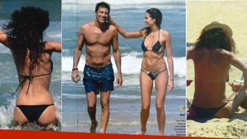 Florencia Raggi y Nicolás Repetto disfrutan de sus vacaciones en Punta del Este. (Foto: revista Gente)