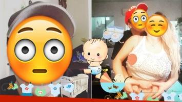 El Dipy pide canje en las redes sociales para el bebé que viene en camino (Foto: web y Twitter)