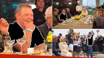 """¡Auténtico 100%! El Pepo y su look """"más sport que elegante"""" en la mesa de Mirtha Legrand: su show en vivo con El Tirri"""
