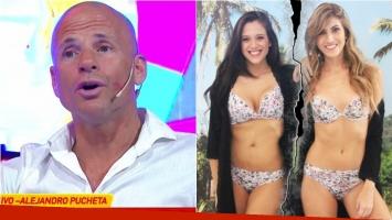 Alejandro Pucheta habló en Infama sobre la pelea de su hija con Cande Ruggeri. Foto: Captura