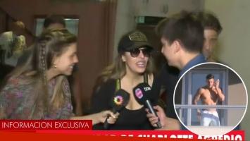 Qué le pasa a Charlotte Caniggia: el video con la agresión a la prensa
