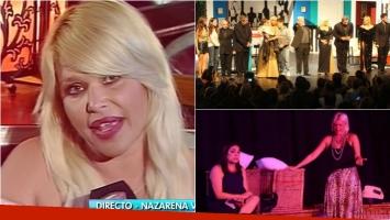 Nazarena Vélez anunció en Intrusos que se retira de la actuación: