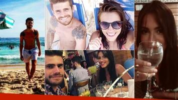 Gastón Soffritti y sus primeras vacaciones con Agustina Agazzani en Brasil (Foto: Instagram)