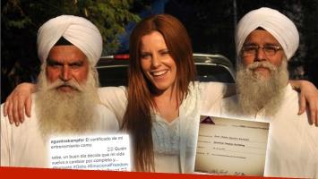 ¡Llamativo título! Mirá de qué se recibió Kämpfer en un centro de meditación en la India